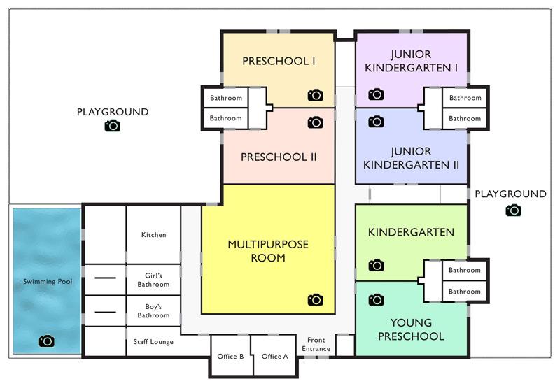 Kindergarten floor plan layout thefloors co for Preschool floor plans